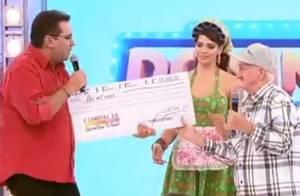 Russo diz que Record não pagou prêmio prometido durante 'Domingo Show'