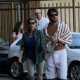 Alexandre Pato está morando em São Paulo, mas o jogador garante que seu namorado com Barbara Berlusconi segue firme e forte