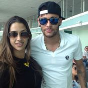 b628561abb504 Neymar e Bruna Marquezine se desentendem na chegada a Barcelona