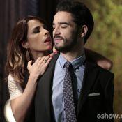 Caio Blat sobre intimidade com Maria Ribeiro em 'Império': 'Bem malucos'