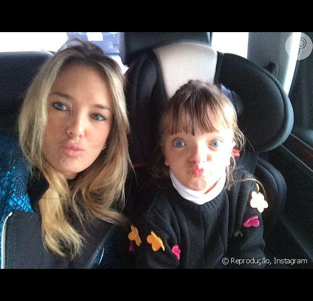 Ticiane Pinheiro comenta saudades de Rafaella Justus durante viagem da menina com o pai, Roberto Justus: 'Dá um aperto, né, mas eu sei da importância de ela ficar com o pai'