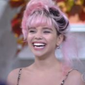 Bruna Linzmeyer fala palavrão no 'Encontro' e Fátima ameniza: 'Deu ruim, né?'