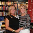 Ana Maria Braga recebeu Susana Vieira na noite de lançamento do seu livro de receitas culinárias