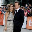 Colin Firth e Livia Giuggioli estão na lista de mais bem vestidos de 2014
