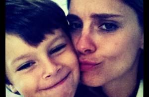 José, filho caçula de Carolina Dieckmann, completa 7 anos. Veja fotos!