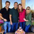 Marina Ruy Barbosa escolheu passar o aniversário de 19 anos, em junho de 2014, em uma viagem com o então namorado, Klebber Toledo, e com os pais