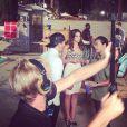 Bruna Marquezine estreia a sua carreira internacional em Los Angeles. A atriz está rodando o filme 'Breaking Through'