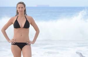 Luana Piovani e Bruno Gagliasso gravam cenas de 'Dupla Identidade' na praia