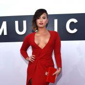 VMA 2014: Demi Lovato levanta suspeita de gravidez ao receber carinho na barriga