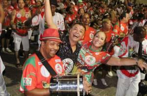 Susana Vieira e David Brazil serão rainha e rei de bateria da Grande Rio em 2015
