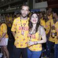 Alessandra Negrini curte os dias de folia na companhia do namorado, o fotógrafo João Wainer