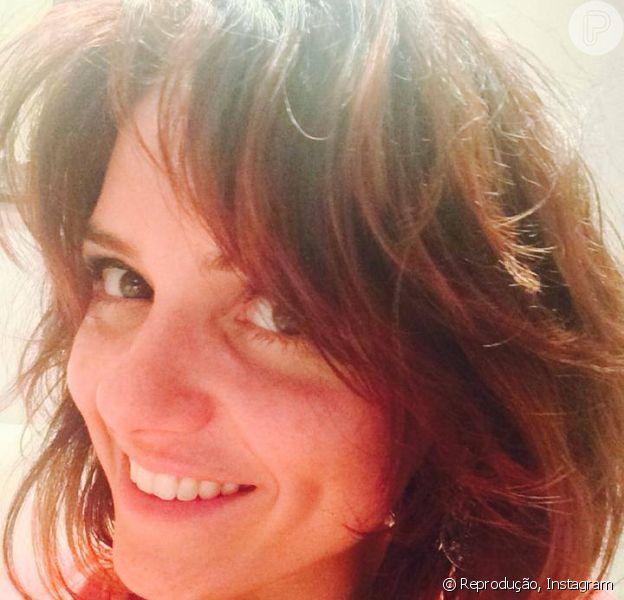 Monica Iozzi muda o visual para viver a personagem Raquel no filme 'Comédia Divina' (27 de agosto de 2014)