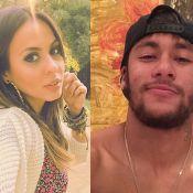 Alinne Rosa quer Neymar em clipe e nega romance com o jogador: 'Não rolou beijo'