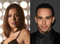 Neymar comenta foto de Anitta com Lewis Hamilton em GP do Brasil: 'Meus amigos'