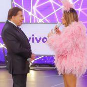 Claudia Leitte lamenta fala de Silvio Santos no Teleton: 'Senti-me constrangida'