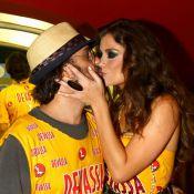 'Sou o marido dela', declara Mauro Lima sobre atriz Alinne Moraes, no Carnaval