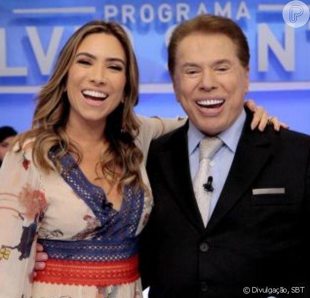 Patricia Abravanel declarou que fica nervosa com as falas polêmicas de Silvio Santos, em  13 de novembro de 2018