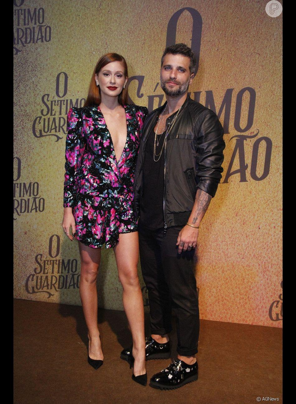 Marina Ruy Barbosa zoou Bruno Gagliasso após ator postar o próprio nome no  Twitter e626edb10c692