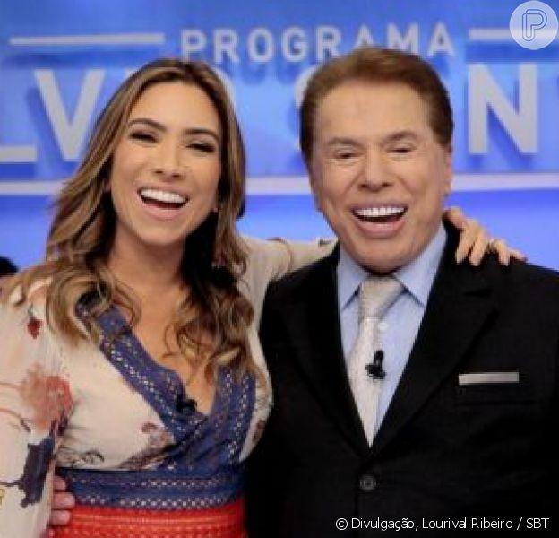 Patricia Abravanel defende o pai, Silvio Santos, em polêmica com Claudia Leitte, em 14 de novembro de 2018