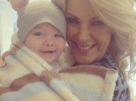 Ana Hickmann fecha contrato com pomada para postar fotos do filho, Alexandre Jr