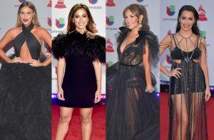 Grammy Latino 2018: tule, franjas, plumas e looks pretos são destaques no prêmio