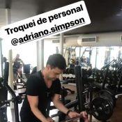 Graciele Lacerda tem ajuda de Zezé Di Camargo em treino: 'Troquei de personal'