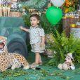 Bernardo, filho de Aline Dias, completou 1 ano em novembro de 2018
