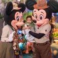 O tema da festa de aniversário de Bernardo, filho de Aline Dias e Rafael Cupello, foi Safari do Mickey