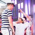 Wesleu Safadão levou o filho  Yhudy  para o cruzeiro WS On Board