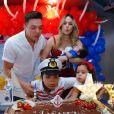 Filho de Wesley Safadão,  Yhudy ganhou uma festa  no cruzeiro WS On Board
