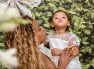 Filha de Roberta Rodrigues, Linda Flor, de 1 ano, é batizada: 'Princesa'. Fotos!
