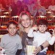 Fernanda Gentil é mãe de Gabriel, de 2 anos, fruto de seu antigo relacionamento com Matheus Braga, e de Lucas, de 10 anos, seu afilhado que cria desde que a mãe do menino morreu