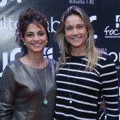 Priscila Montandon brinca em foto e Fernanda Gentil responde: 'Quero casar'