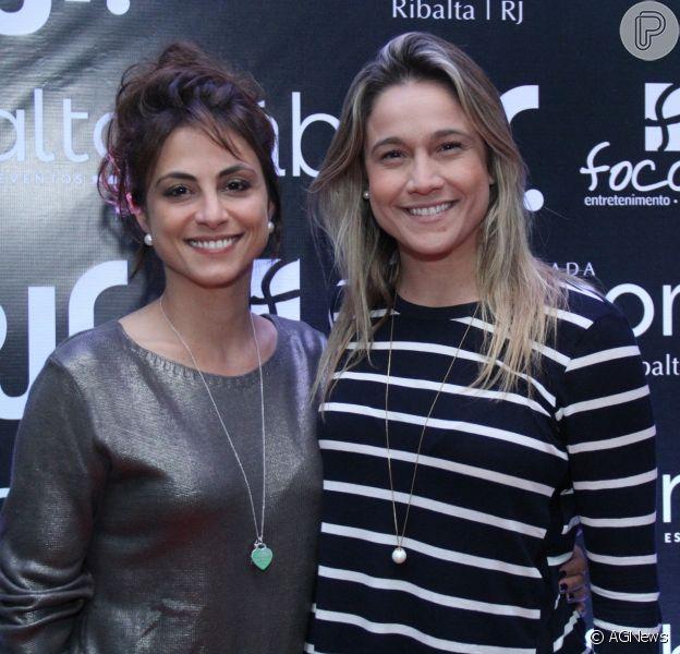 Fernanda Gentil responde comentário da namorada, Priscila Montandon, em foto, em 29 de novembro de 2018