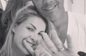 Ana Hickmann comemora 15 anos de casada com o empresário Alexandre Corrêa