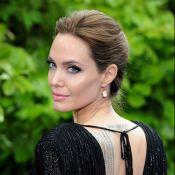 Angelina Jolie fala sobre véu com desenhos dos filhos: 'Representa nossa vida'