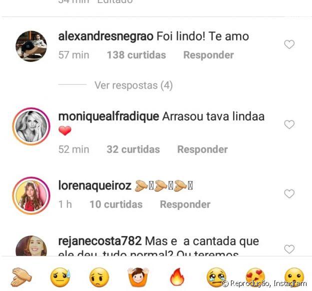 Xande Negrão, marido de Marina Ruy Barbosa, elogia especial: 'Lindo'
