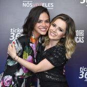 Bruna Marquezine vibra com antigo hit em show de Sandy: 'Não estava preparada'