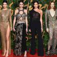 Confira os looks das famosas no British Fashion Awards 2018, realizado em Londres, nesta segunda-feira, 10 de dezembro