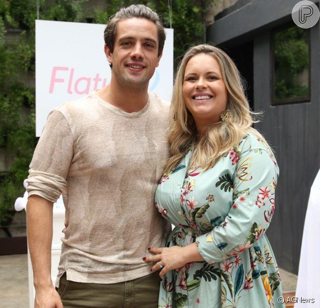 Mariana Bridi publicou uma foto antiga ao lado do marido, Rafael Cardoso