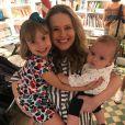 Mariana Bridi é mãe de Aurora, de 4 anos, e Valentim, de 7 meses