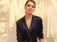 Camila Queiroz aposta em sleepwear e deixa lingerie à mostra em evento. Fotos!