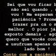 Veja o desabafo e revelações de Luane Dias no Instagram