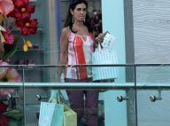 Presentes de Natal? Fátima Bernardes vai às compras em shopping do Rio. Fotos!