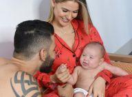 Só no chamego: Gusttavo Lima mostra momento fofo com filho caçula, Samuel. Vídeo