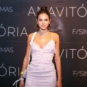 Bruna Marquezine usa look romântico e moderno em show de Anavitória. Fotos!