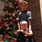 Eliana posta foto dos filhos, Arthur e Manuela: 'Um pouco de fofura pra vocês'