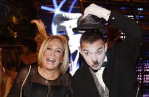 Susana Vieira se diverte em festa com presença de Claudia Raia e famosos, no RJ