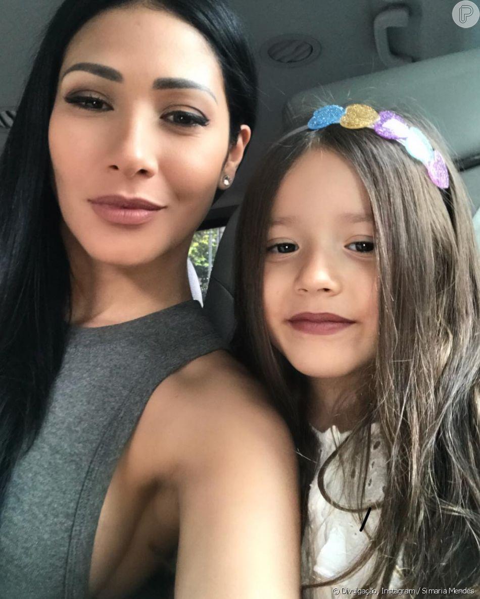 Simaria conversou com a filha,  Giovanna, em espanhol e ganhou elogios dos seguidores nesta quarta-feira, 2 de janeiro de 2019