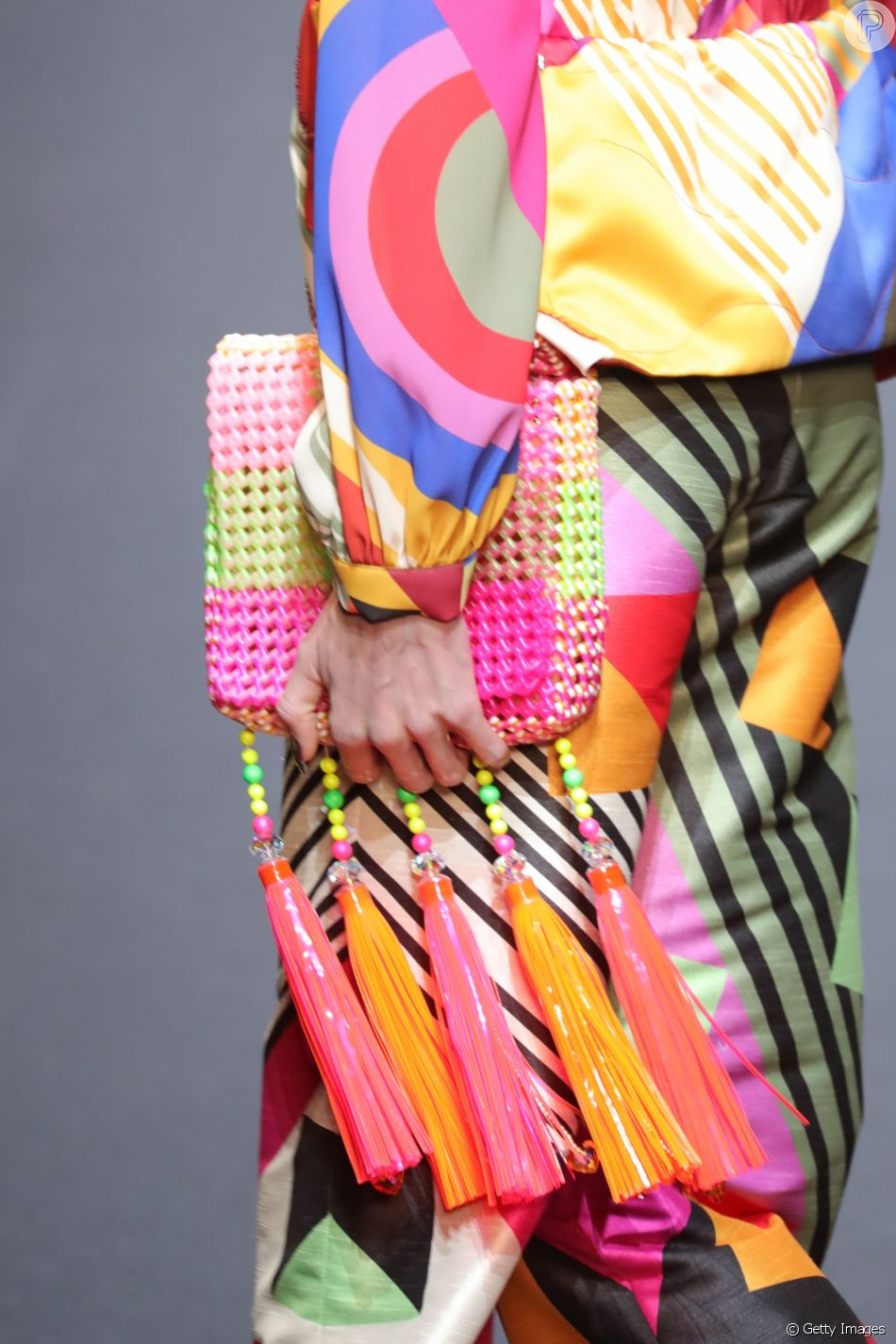 Bolsas de contas: colorida!